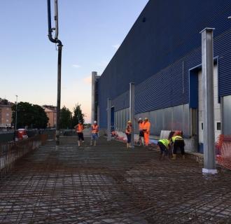 Demolizione e ricostruzione CARICA MULETTI – IKEA Store Anagnina