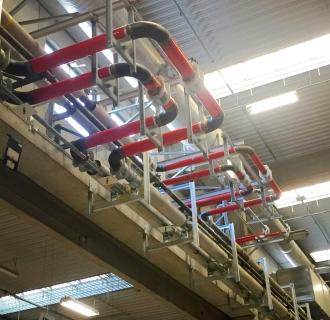 Adeguamento Impianto di riscaldamento – Deposito Piacenza
